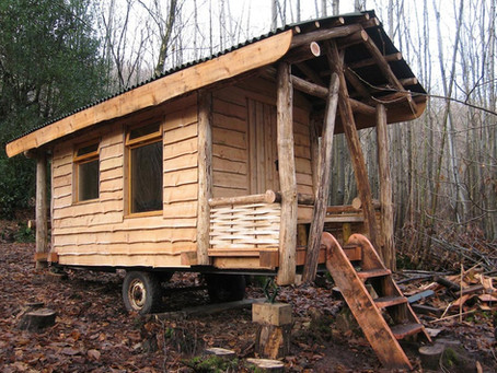 Cabin Porn, Wood Crafts, Landscaping & Tree houses!