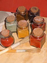 Cent-Vingt Couleurs : pigments pour enduits à la chaux