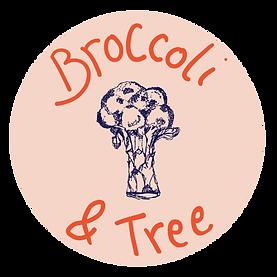 Broccoli and tree circle logo 25cm x 25c