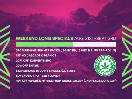 Greenworks Weekend Sale