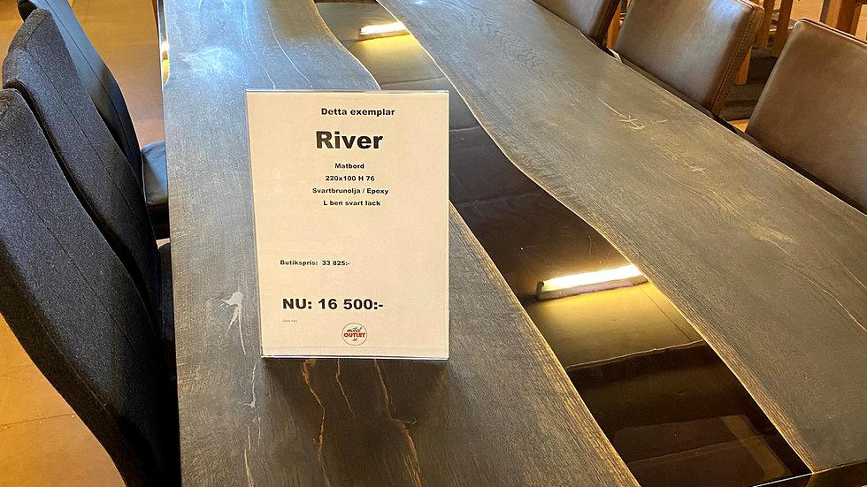 River Matbord 220x100x76.