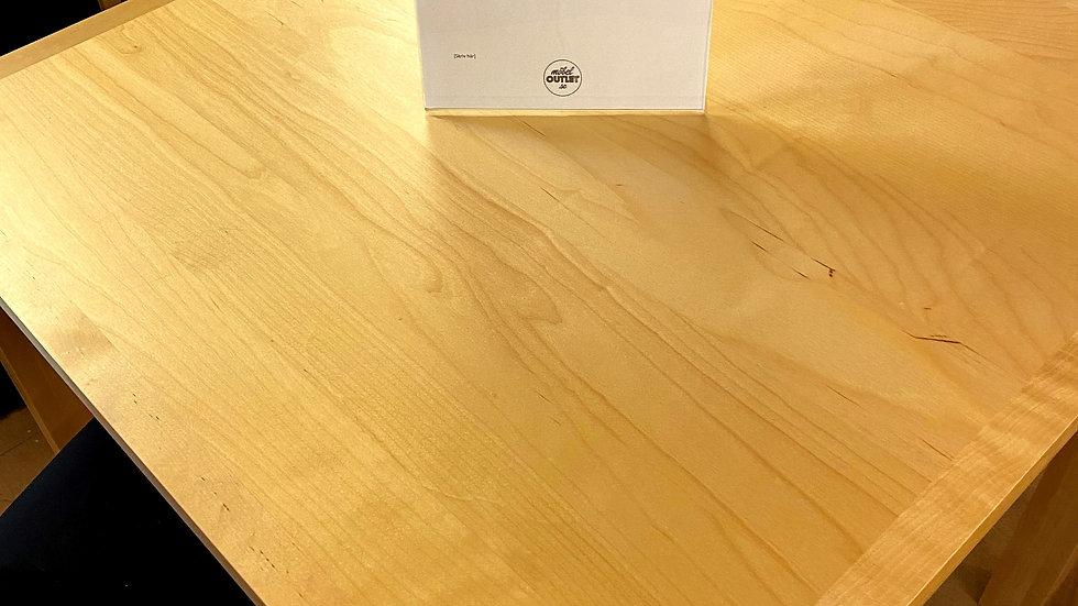 Kummin matbord lackad björk 80x80