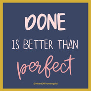 I am a #perfectionist through and throug