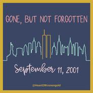 Gone, But Not Forgotten (9/11/01)