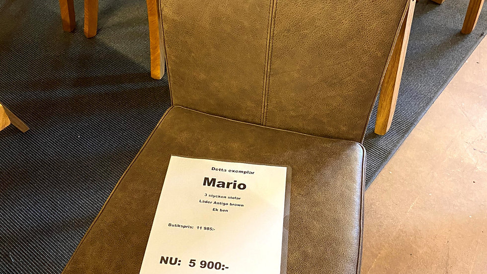 Mario stol 3st