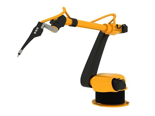 Robotik kol üzerinde çalışıyoruz