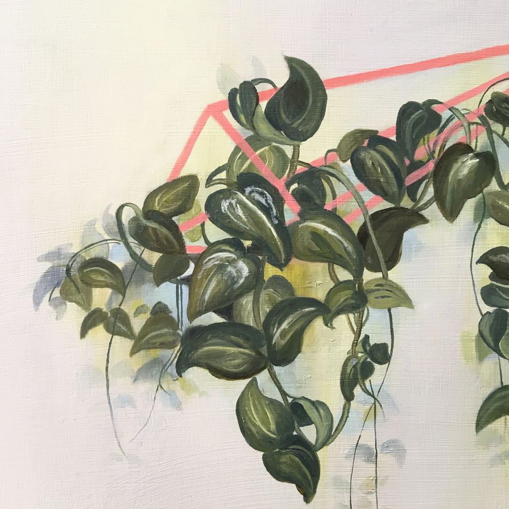Pink Leaves (detail)