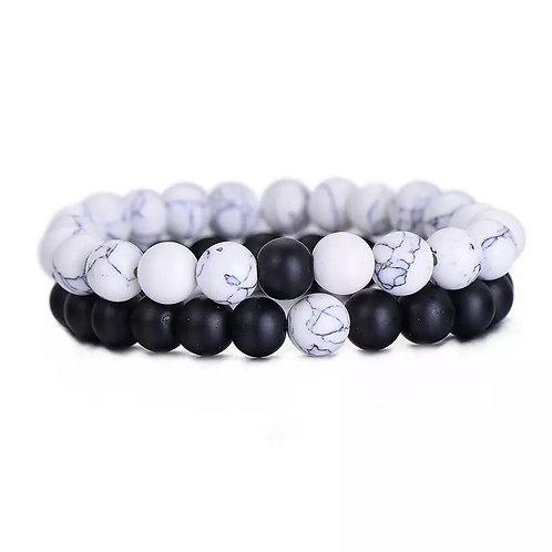 Yin & Yang bracelet  set