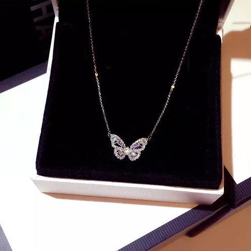 Wanderlust Butterfly necklace