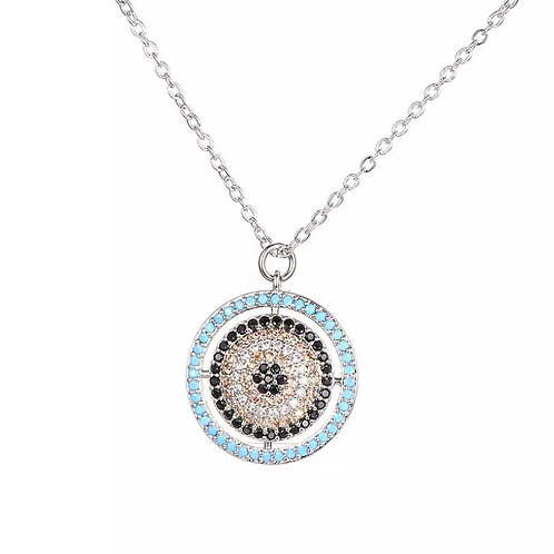 Eye believe necklace