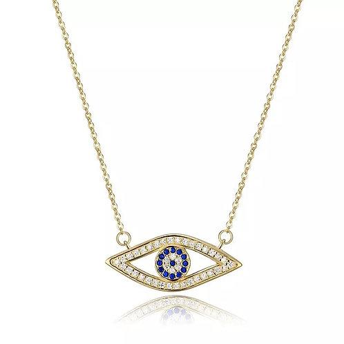 Elsie evil eye necklace