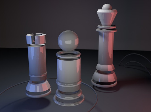 Chess in Space
