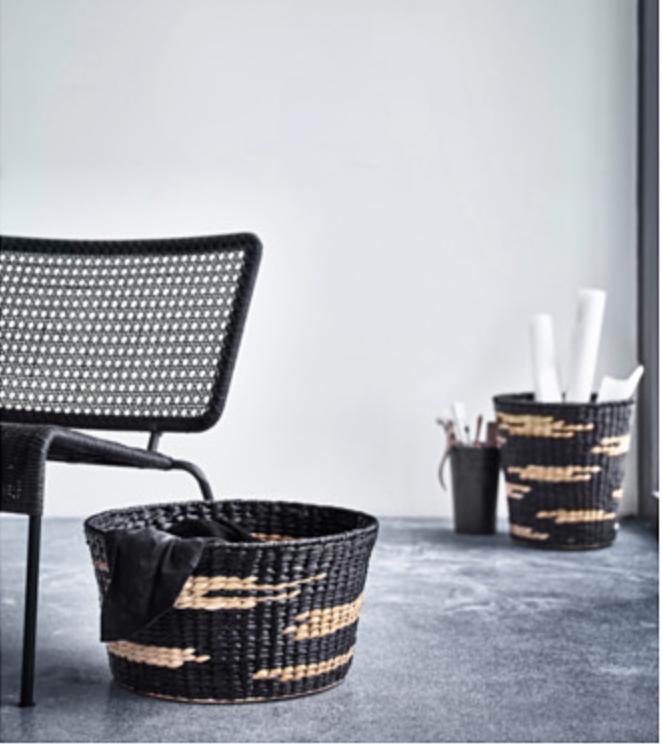 IKEA VIKTIGT Woven Baskets