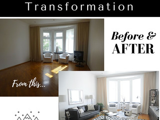 Before and After - Moscow Penthouse Transformation