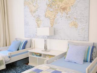 Travel-themed Boys Room