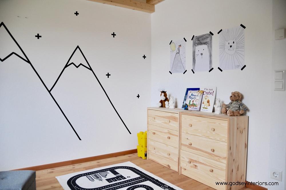Tauerndorf Mountain Chalet Boys Room
