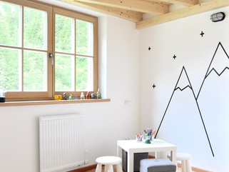 Mountain Chalet Boys Room- Styled!
