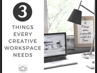 3 things every creative workspace needs