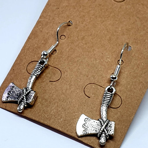 Earrings - Axes