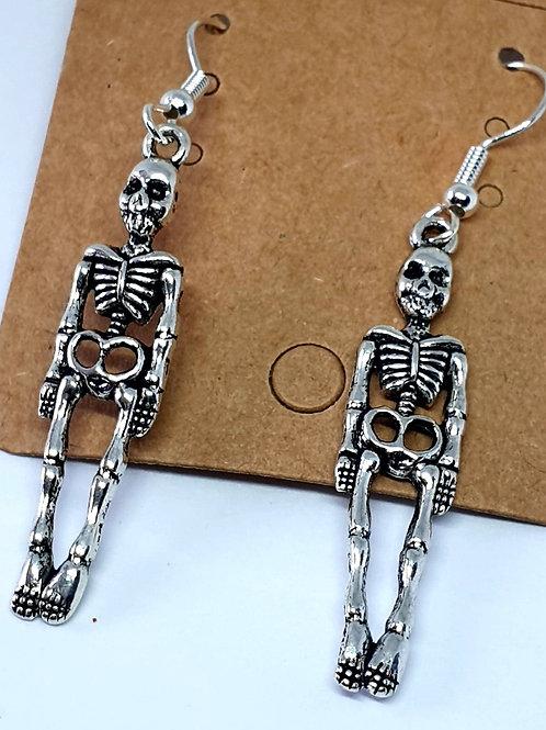 Earrings - Skeletons