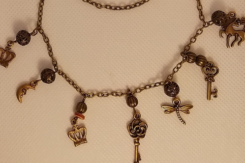 Necklace - Chain with Charms