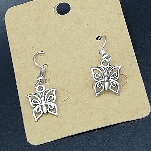 Earrings - Butterflies