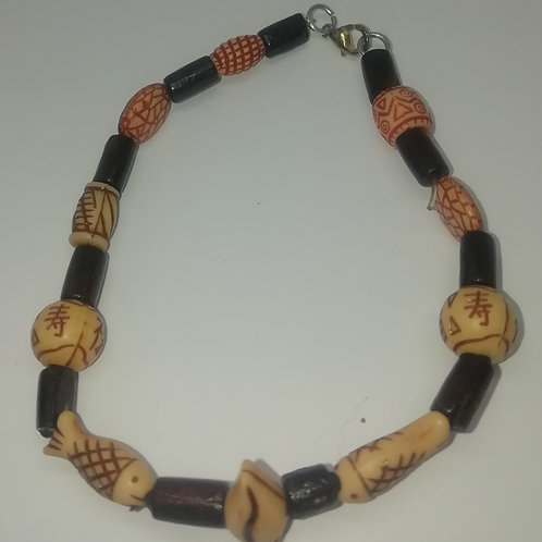 Bracelet - Beads and Fish