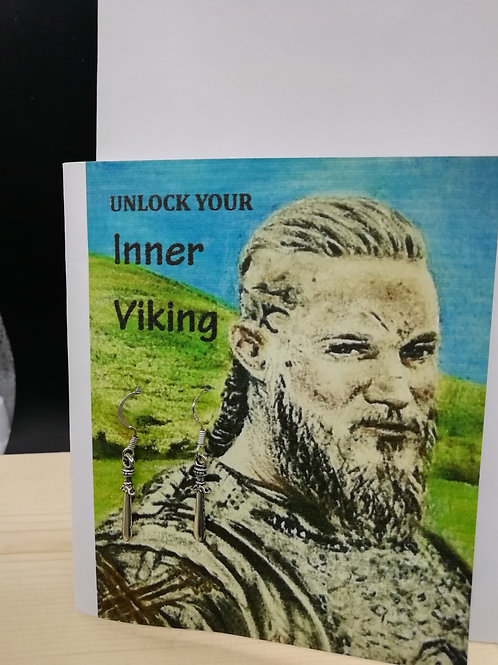 Card - Unlock Your Inner Viking with Sword