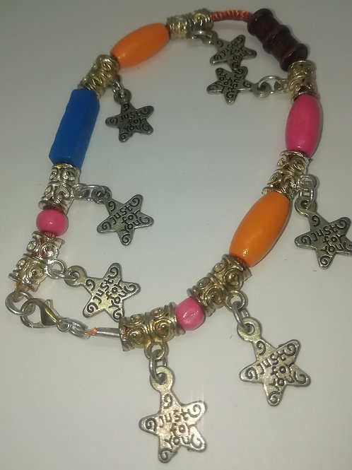 Bracelet - Just For You Stars and Beads