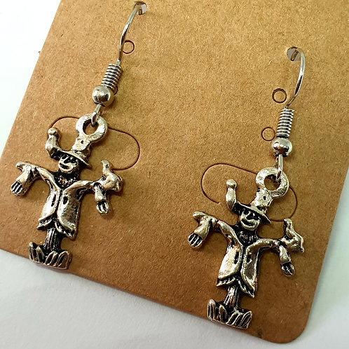Earrings - Scarecrows