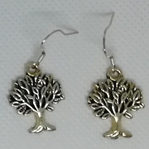 Earrings - Pretty Trees
