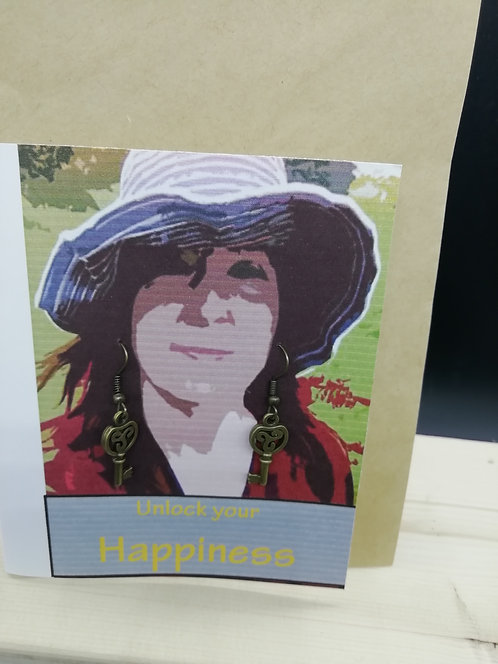 Card - Unlock Your Happiness 01