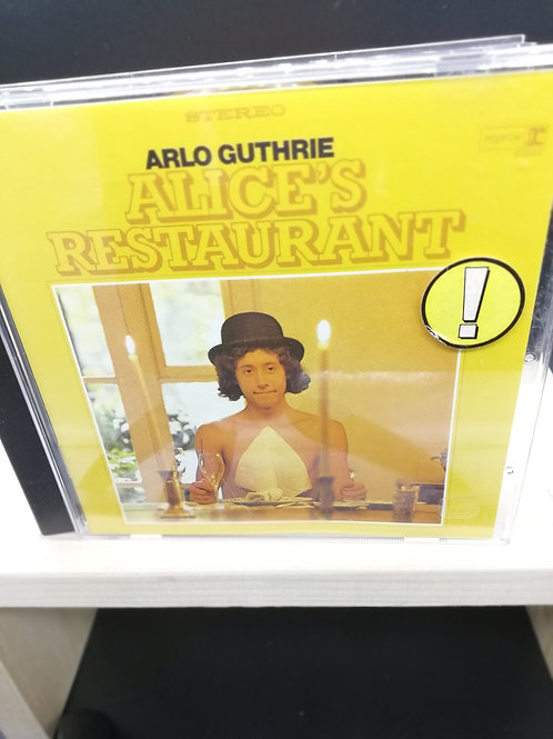 CD: Arlo Guthrie 'Alice's Restaurant'