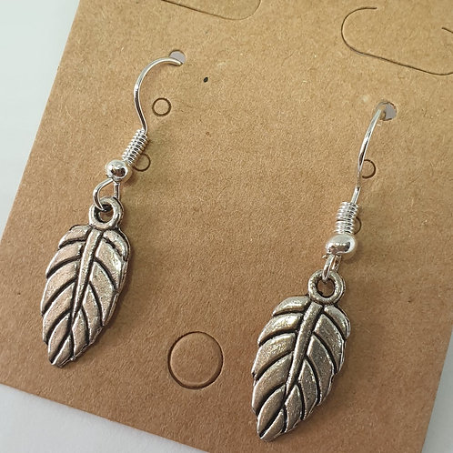 Earrings - Chunky Leaves