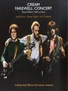 "DVD: Cream ""Farewell Concert"""