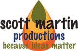 Scott Martin Productions' cone logo