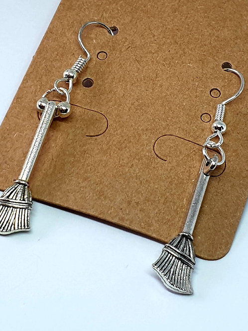 Earrings - Broomsticks