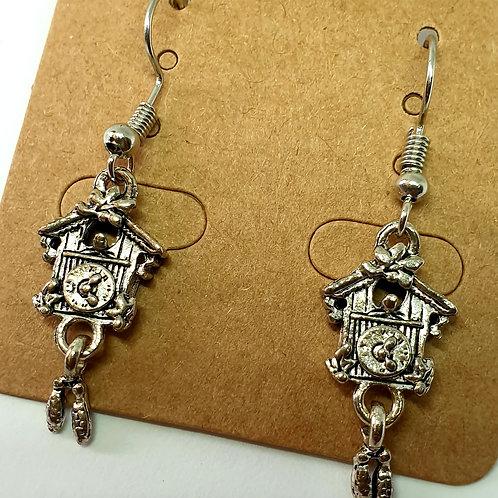 Earrings - Cuckoo Clocks