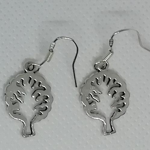 Earrings - Cutout Trees