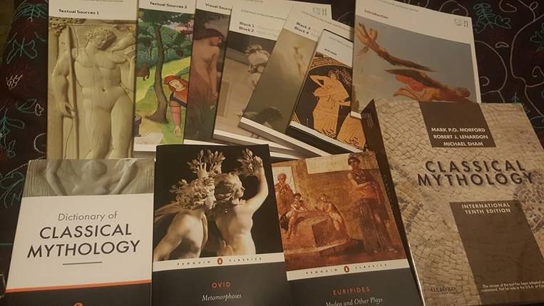 Mythology course materials