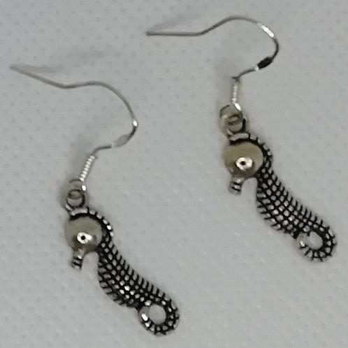 Earrings - Seahorse