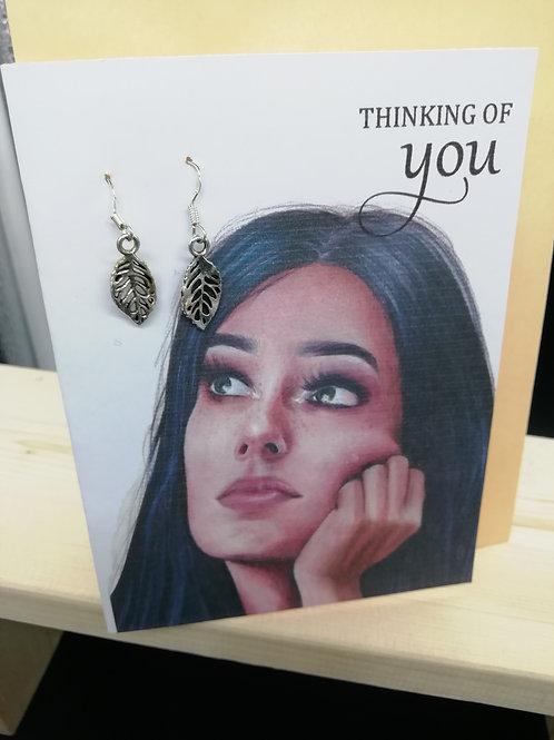 Card - Thinking of You Leaf