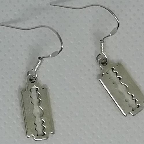 Earrings - Razor Blades