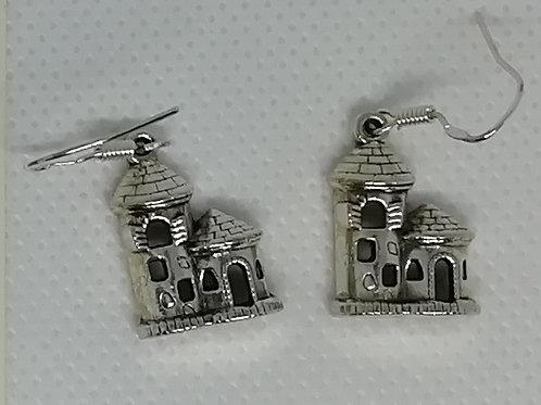 Earrings - Castle