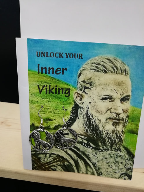 Card - Unlock Your Inner Viking Wolf