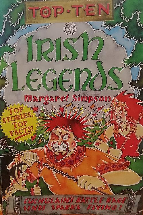 'Top Ten: Irish Legends' by Margaret Simpson