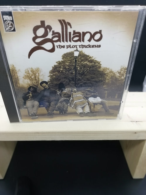 CD: Galliano 'The Plot Thickens'
