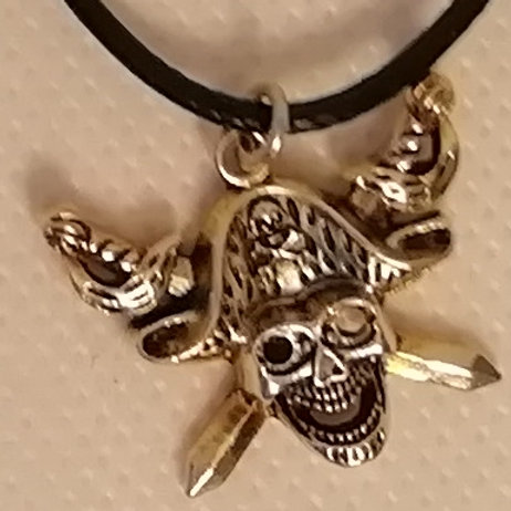 Necklace - Pirate Crossed Swords
