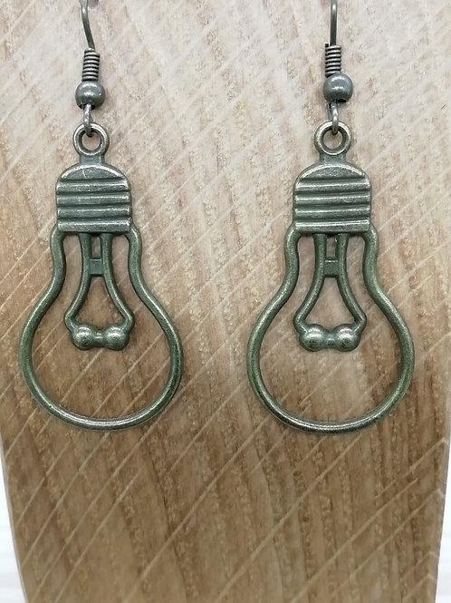 Earrings - Large Lightbulb
