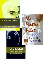 Three short novels by Lesley Atherton.pn